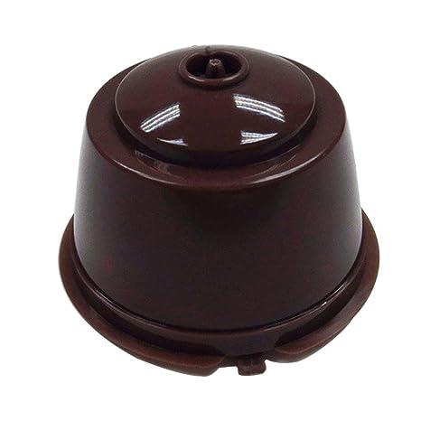 7 en 1 Cápsula Filtro de café sin papel reutilizable para Dolce Gusto cafetera café cápsulas