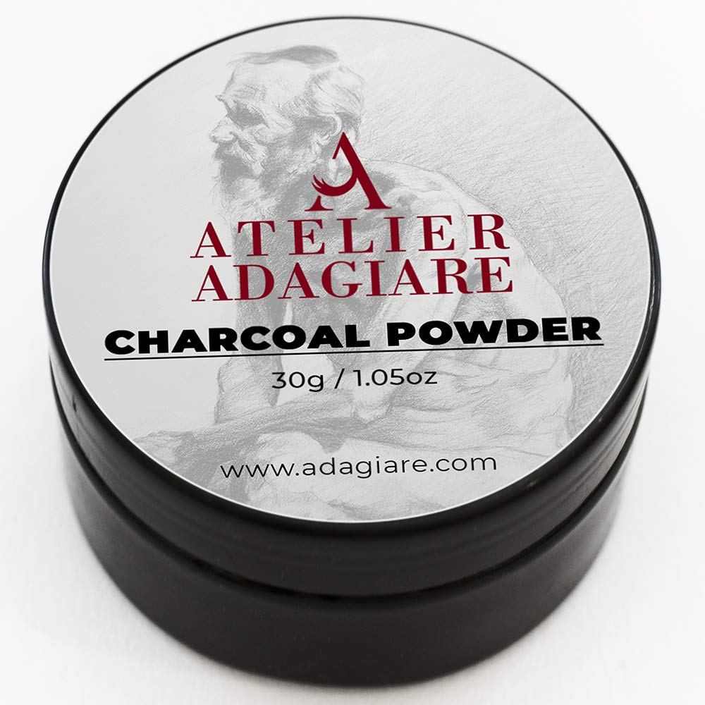 ADAGIARE Fine Charcoal Powder for Creative Figure and Portrait Drawing by Adagiare