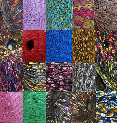 300 Yards 20 Colors Ladder Trellis Yarn for 20 Necklaces Mix lot (mix213AA0)