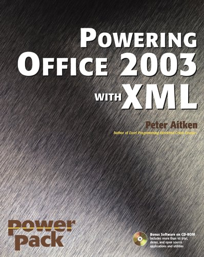Download Powering Office 2003 with XML (Power Pack Series) Pdf