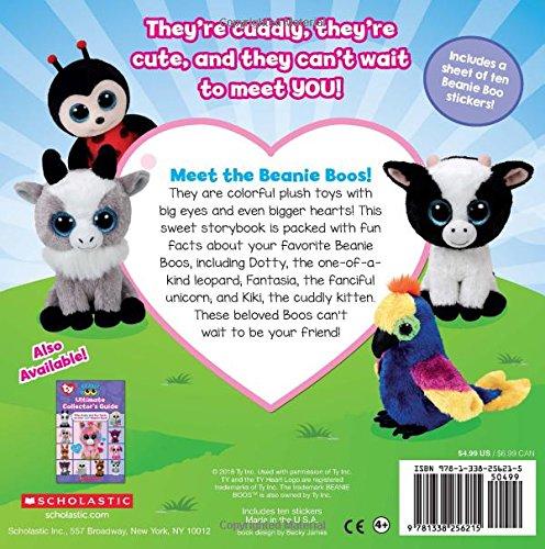 a1135a80ac4 Meet the Beanie Boos (Beanie Boos)  Joan Emerson  9781338256215   Amazon.com  Books