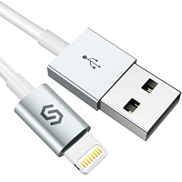 Syncwire Cable Lightning Cable Cargador iPhone - [Apple MFi Certificado] Cable iPhone Compatible con iPhone XS MAX XR X 8 Plus 7 Plus 6S 6 Plus 5 5S ...