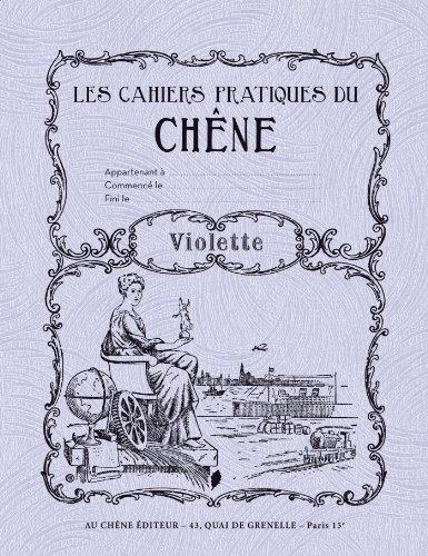 Cahier rétro Violette