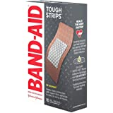 Band-Aid Brand Tough Strips Adhesive Bandages for Wound Care, Durable Protection for Minor Cuts and Scrapes, Extra Large…