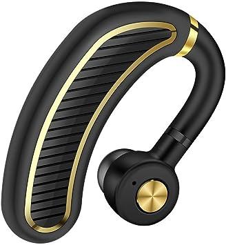 lennonsi K21 nuevo auricular Bluetooth para empresas Más de la oreja deportes auriculares inalámbricos Conveniente para línea fija, oficina, cursos