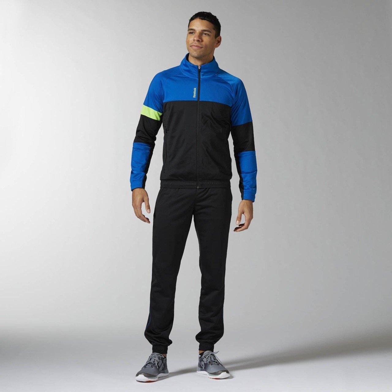 Reebok Ts Cuffed Tricot Trainingsanzug Herren XL Azul