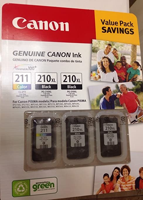 Amazon.com: Canon Value Pack Negro cartucho de tinta, 2 ...