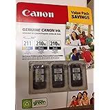 Pacote de valor Canon 211/210xl/210xl