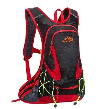 6a86607926e3 Huwaijianfeng - Backpack - Durable - Lightweight - Spring Trekker Travel  Essential (Black)