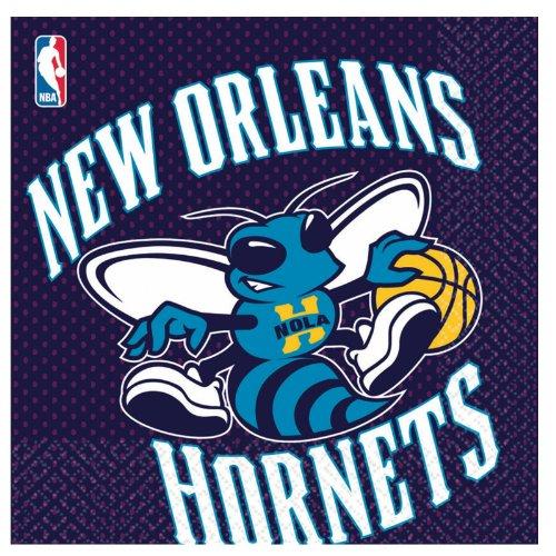 New Orleans Hornets Lunch Napkins - 16 Per Unit