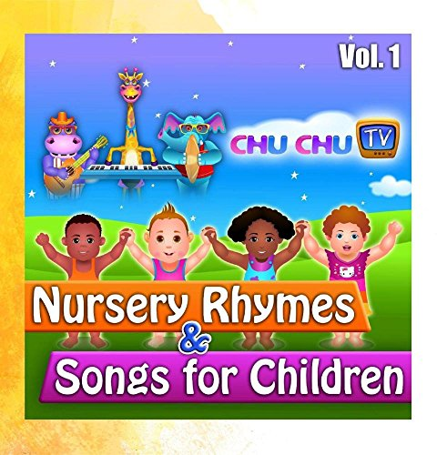 ChuChuTV Nursery Rhymes & Songs for Children, Vol. 1 (Cd Tv)