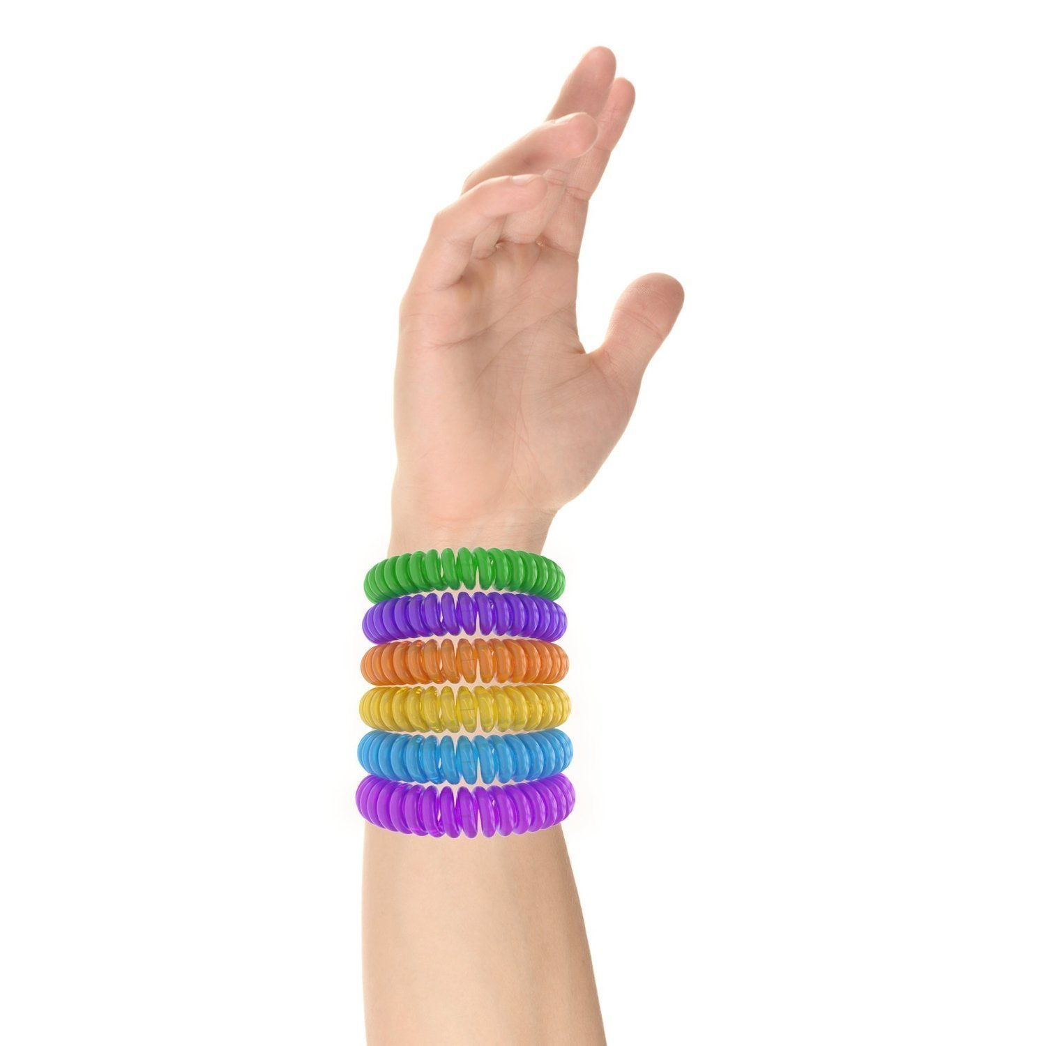 12 Pack Mosquito Repellent Bracelet Band - [320Hrs of Protection] Pest Control Insect Bug Repeller - Natural Indoor/Outdoor Insects - Best Products with NO Spray for Men, Women, Kids, Children