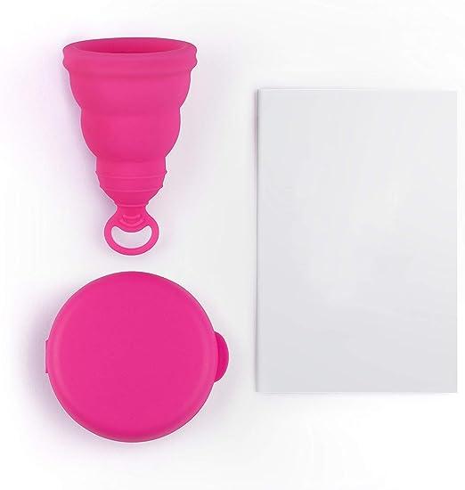 Período de la Copa Menstrual Reutilizable Cómodo, Período ...