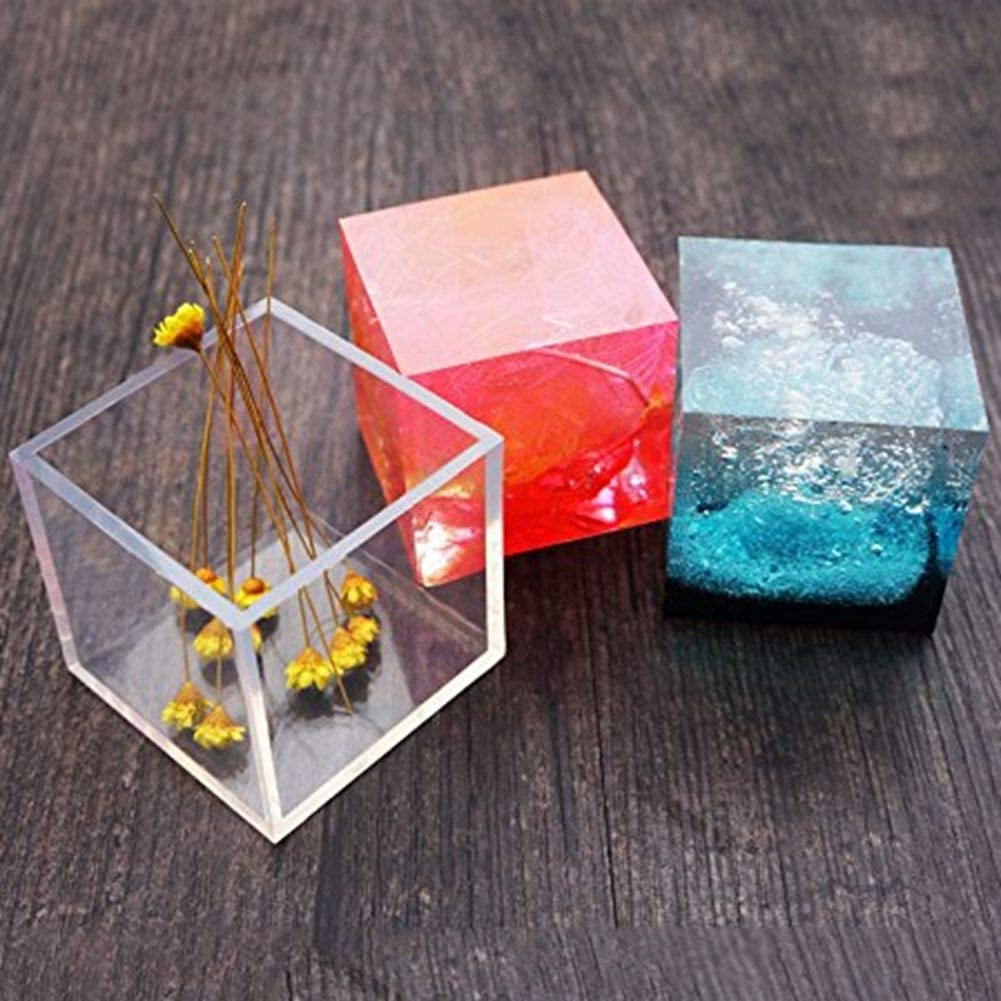 Teardrop Resin Flexible Mold Silicone Pendant Mold Charm Mold DIY Jewelry Sold individually Rectangle
