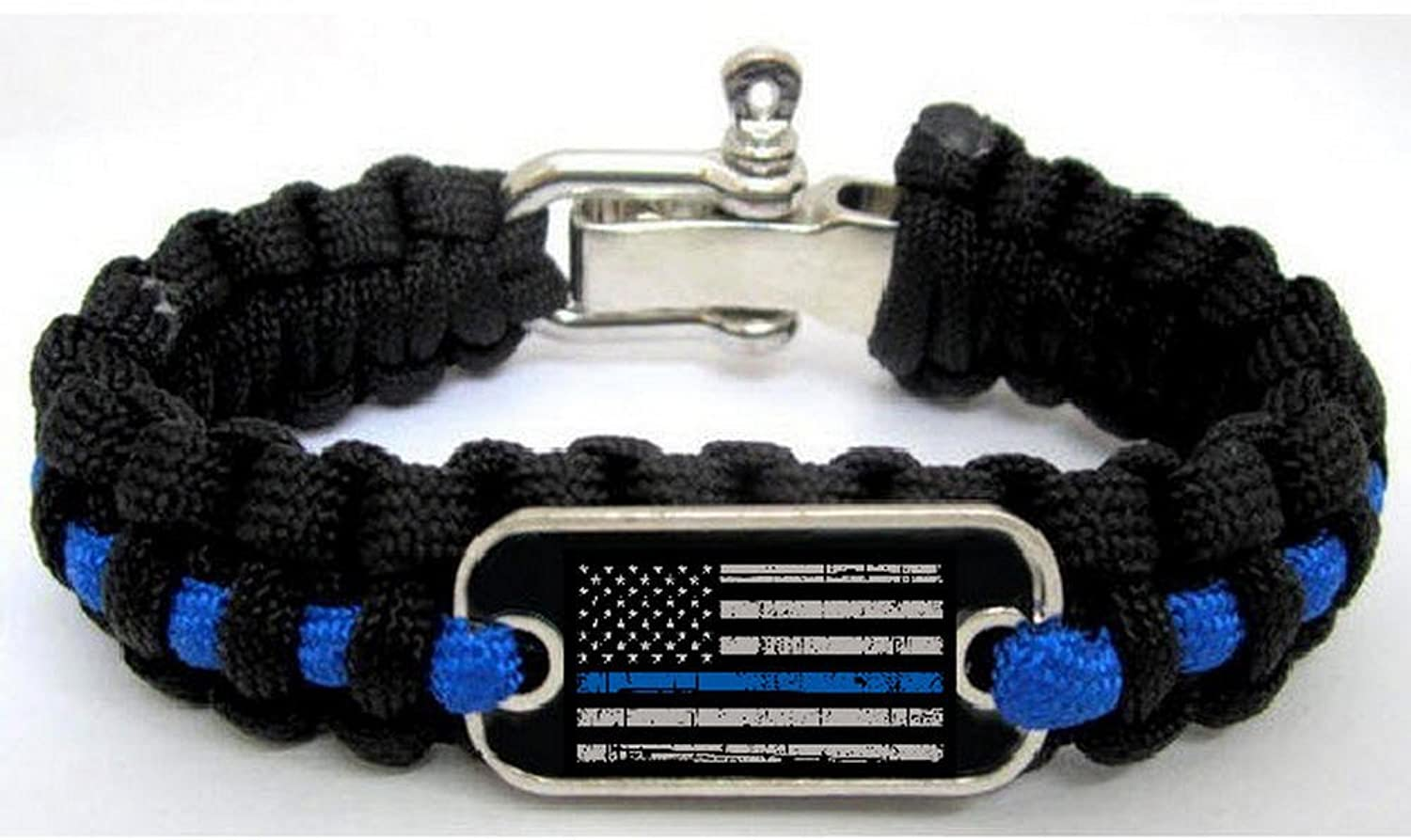 bracelet magazine line pawbraclet blue thin working dog product