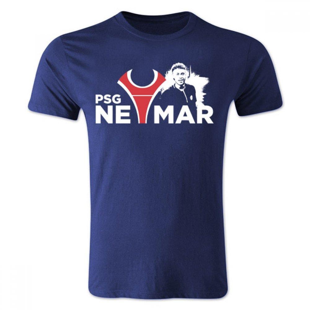 Neymar Psg T-shirt (Navy) B0787YX776 Large (42-44