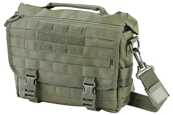 Zip Zap Zooom Mens Military Messenger Army Travel Shoulder Work Bag Satchel Molle  Shoulder Bag Green 671868bbc6