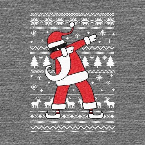 Natale Maglia Verde Maglione Dab Santa Uomo Di Divertente Manica Lunga pCCqwxXEfP