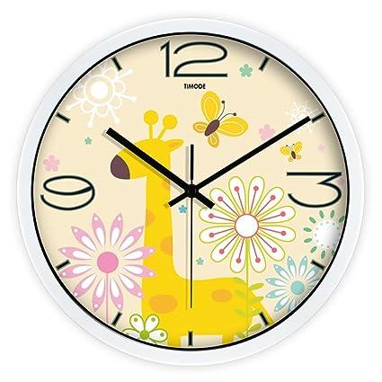 Reloj de Pared Industrial, Reloj de Pared de Silencio salón Dormitorio Relojes de Cuarzo Reloj