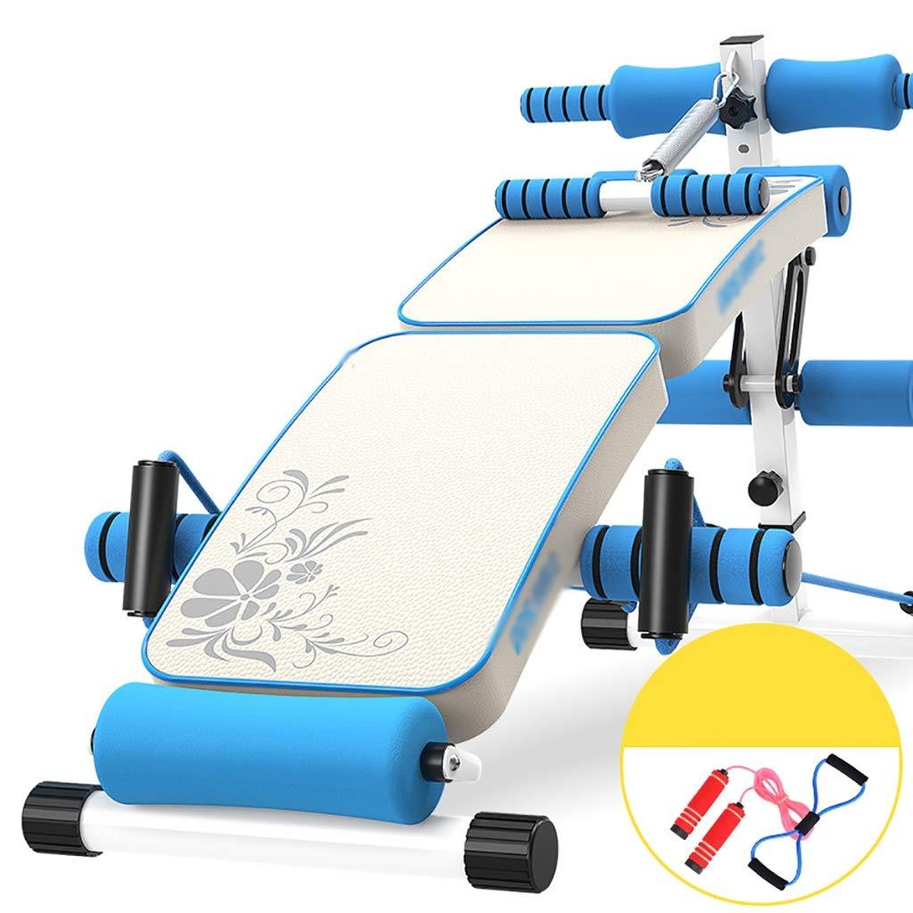 腹筋器具 スポーツ折りたたみABトレーニングプラットフォームジムの肩の胸の圧縮訓練装置  A B07GKQN347