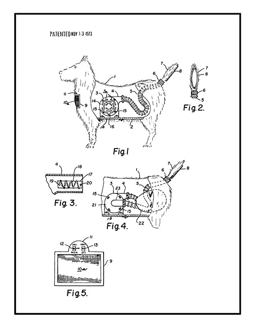 Amazon Com Combination Toy Dog And Vacuum Cleaner Patent Print