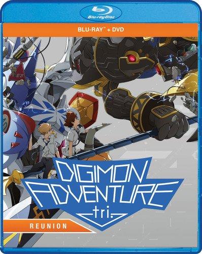 - Digimon Adventure Tri.: Reunion (Bluray/DVD Combo) [Blu-ray]