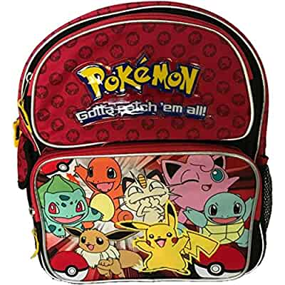 Amazon.com  Pokemon Small Backpack Bag - Not Machine Specific  Video ... 17d35464486bc