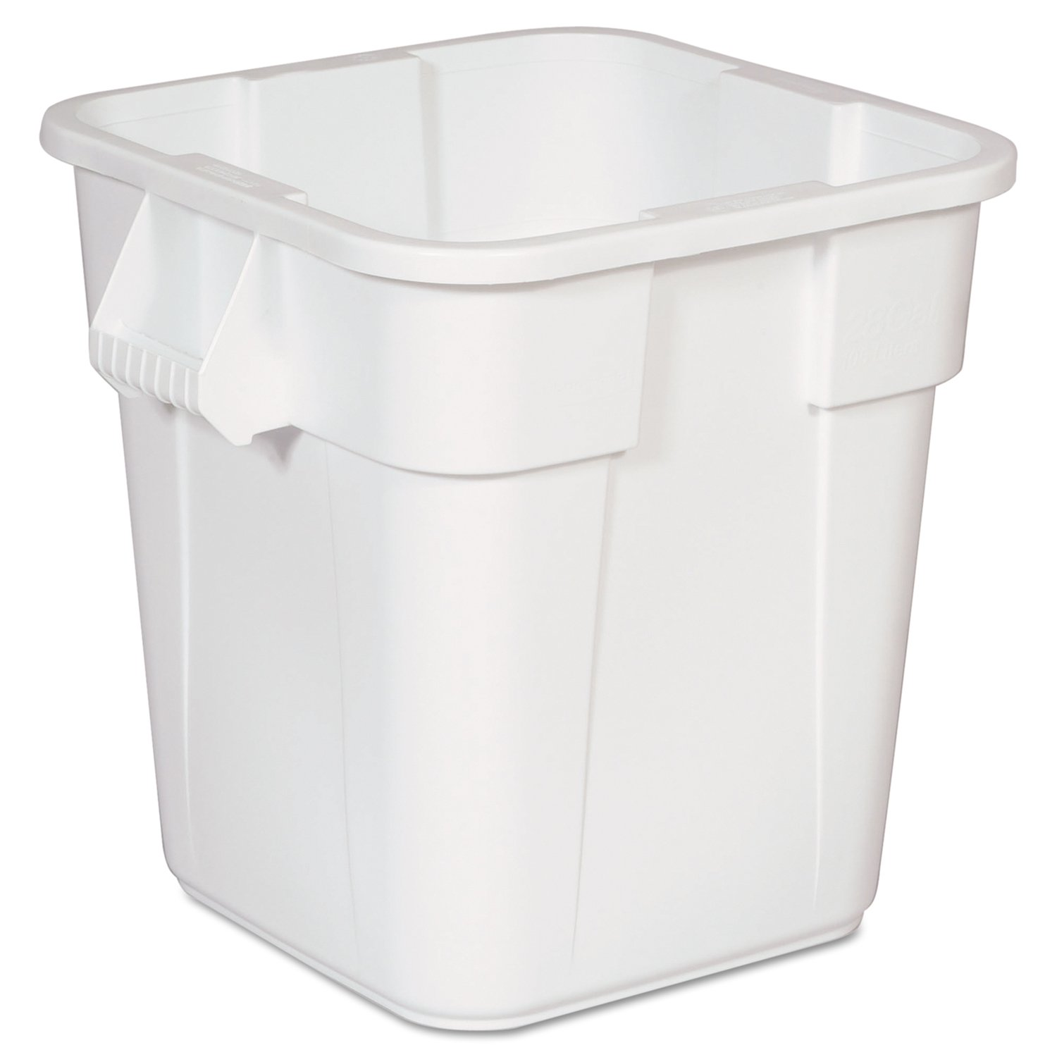 Rubbermaid 106L BRUTE Square Container - Red Newell Rubbermaid FG352600RED