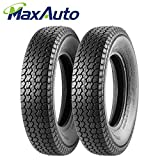 Set of 2 Trailer Tire 205/75D15 205 75 15 Load Range C 101/97L