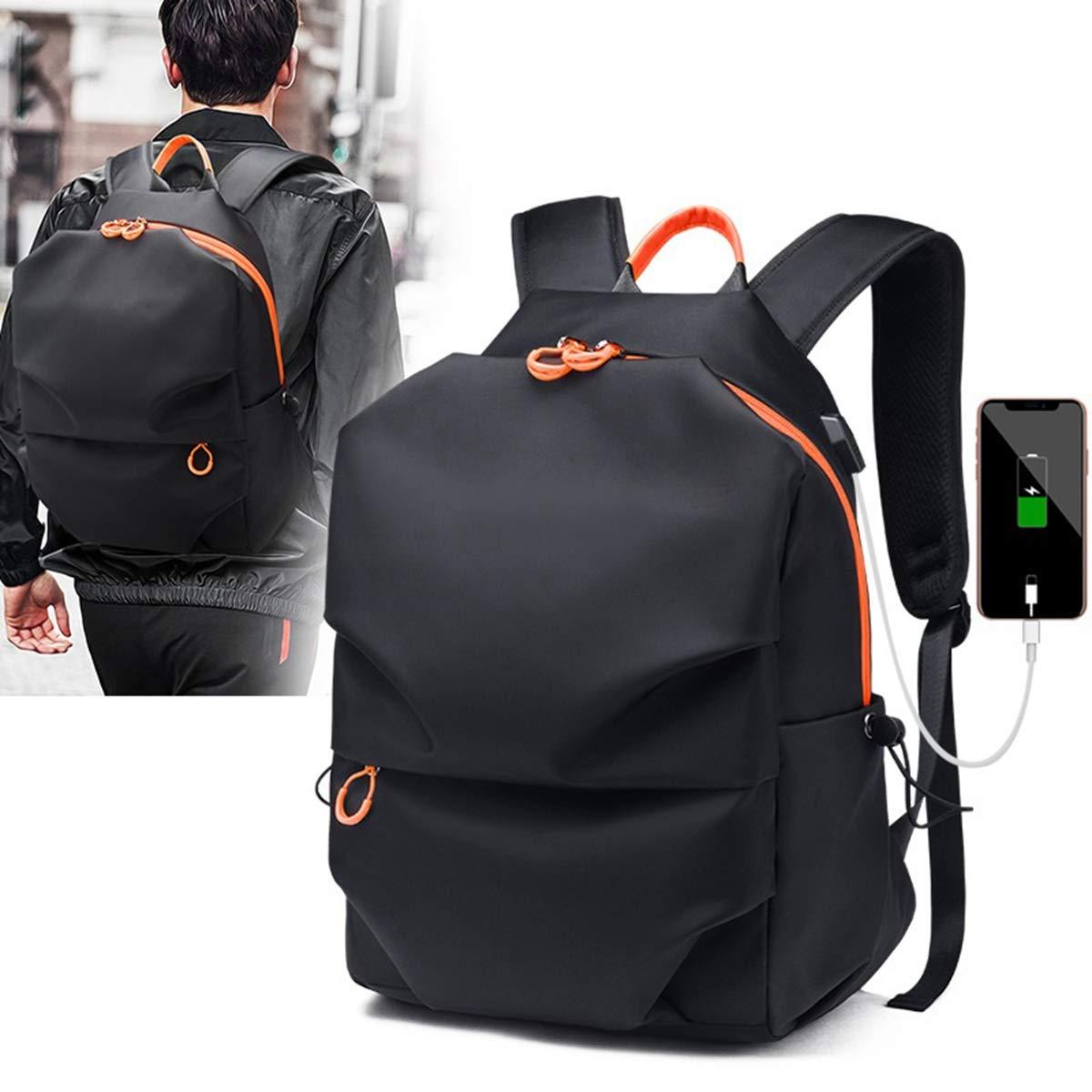 1fbd9068093e AHWZ ビジネスバックパック メンズ スマート USB ポート ノートパソコン ...