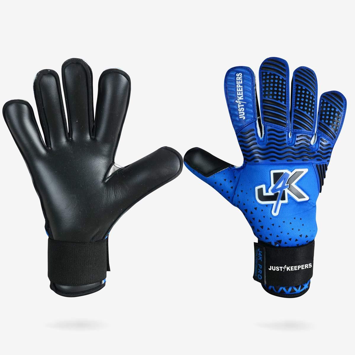 J4K Revo ハイブリッド (ロール+フラットパーム) ゴールキーパー サッカーゴールキーパーグローブ (サイズ10)   B07L4H5WD5