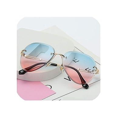Amazon.com: Gafas de sol para mujer, gafas de sol Gradient ...