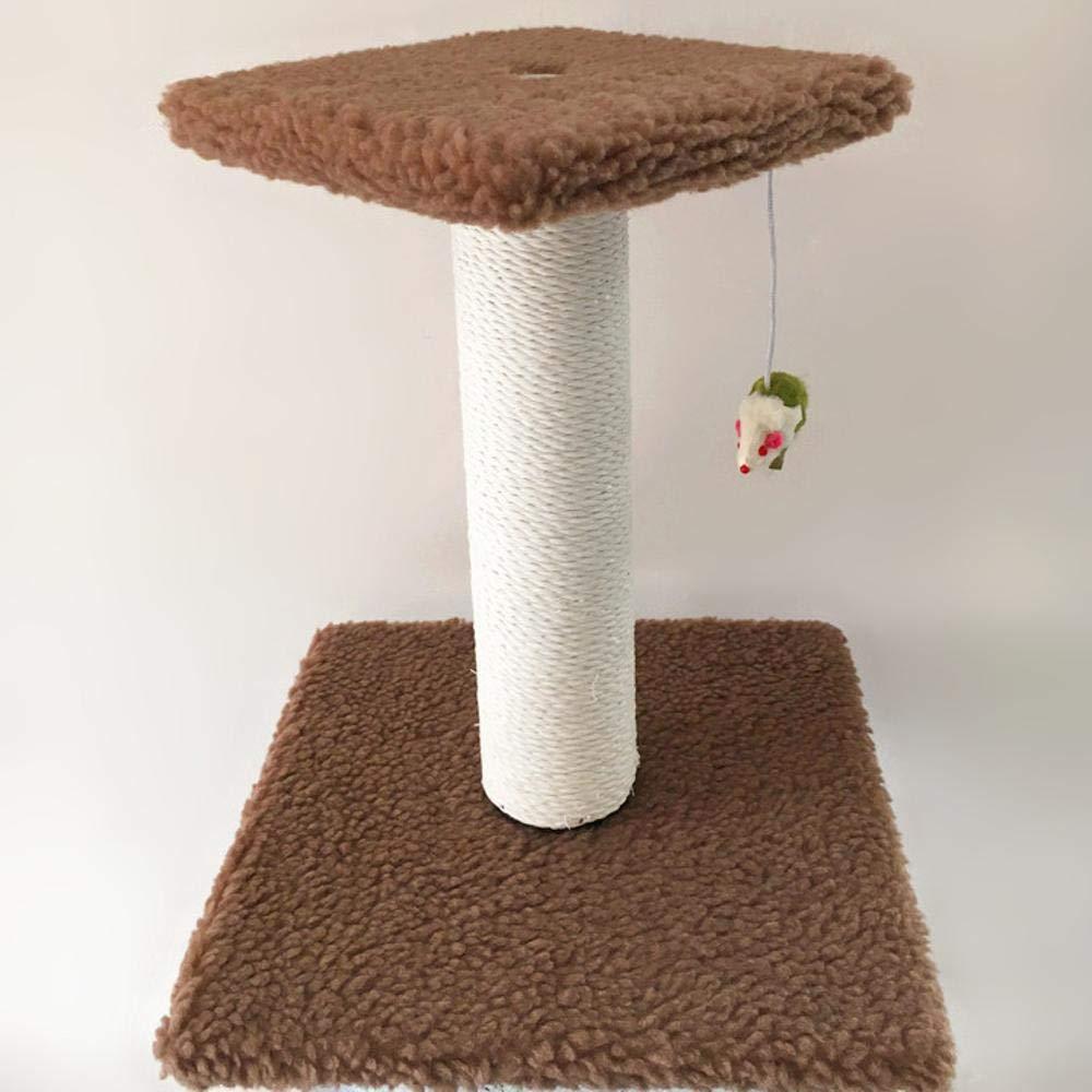 Offriamo vari marchi famosi Ludage Animale domestico Cat arrampicata colonna Frame Frame Frame gatto albero gatto afferrare per gioco dormire cm 28  28  34cm  migliore offerta
