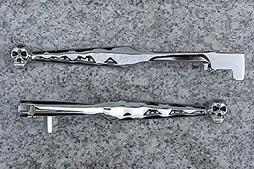 i5® Chrome Skull Brake & Clutch Levers for Kawasaki Vulcan 500 800 (Vulcan 900)