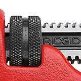 RIDGID 31010 Model 10 Heavy-Duty Straight Pipe Wrench, 10-inch Plumbing Wrench