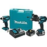 Makita XT218MB 18V LXT® Lithium-Ion Cordless 2-Pc. Combo Kit (4.0Ah)