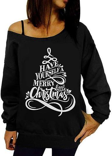 Camiseta de Mujer Navidad Otoño Invierno Rebajas, EUZeo, Papá ...