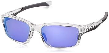 f5954b1599f0fa Oakley - Lunette de soleil Chainlink OO 9247 CHAINLINK Rectangulaire, Polished  Clear Violet Iridium