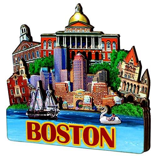 3D Boston Magnet ()