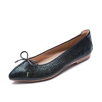 Lazo elegante suave Zapatillas de ballet Roll Up zapatos zapatos de viaje para llevar las mujeres embarazadas: Amazon.es: Hogar