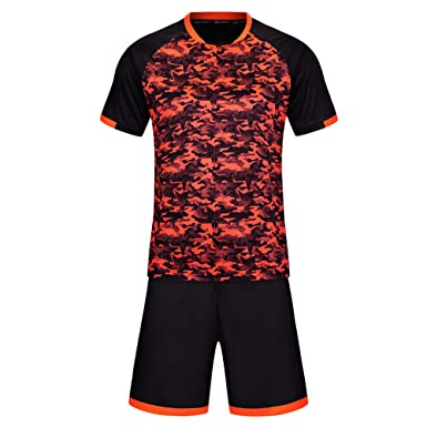 BOZEVON Men   Boys Football Kit acfcc745092d