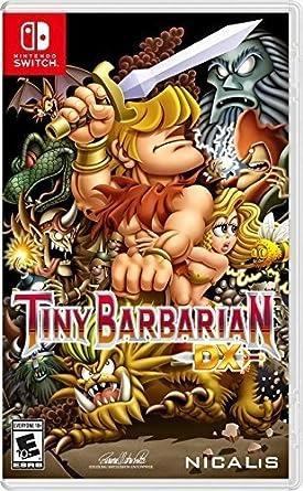 Tiny Barbarian DX - Launch Edition [Importación USA]: Amazon ...