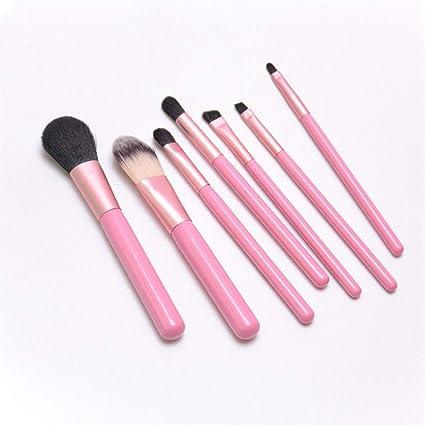 Pincel de maquillaje Traje de 7 piezas Cepillo para rubor ...
