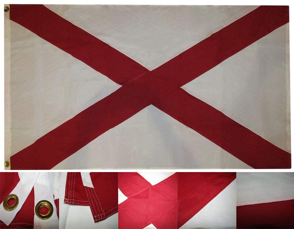 人気大割引 6 x B01MYSWMVT 10刺繍縫製アラバマ状態の600d SolarMaxナイロンフラグ6 x10 ' x10 ' ' B01MYSWMVT, アコウグン:541ad1b4 --- 4x4.lt