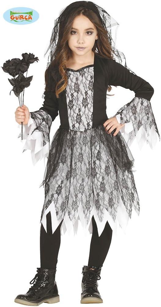 Guirca 87320 - Niña Fantasma (Ghost Girl), Talla 7-9 Años