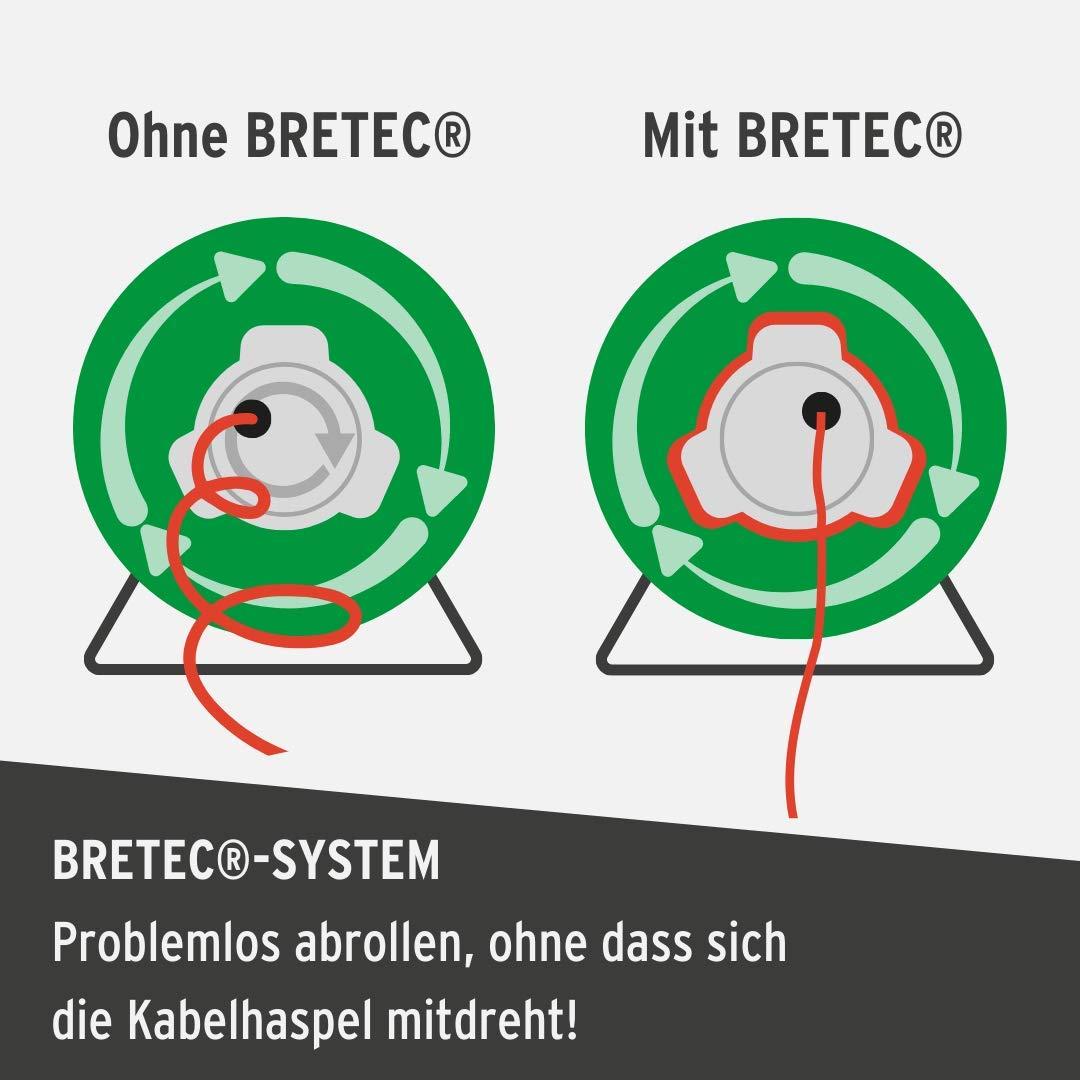 Brennenstuhl 1183530 Garant Super-Solid - Carrete alargador de ...