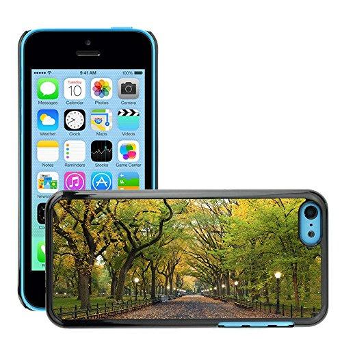 Hülle Case Schutzhülle Cover Premium Case // V00002649 Zentralpark // Apple iPhone 5C