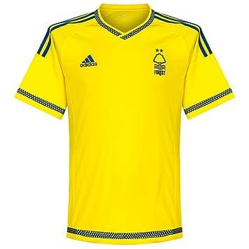 Adidas Nottingham Forest (sin patrocinador) Camiseta de fútbol 2015 2016, Hombre, Amarillo