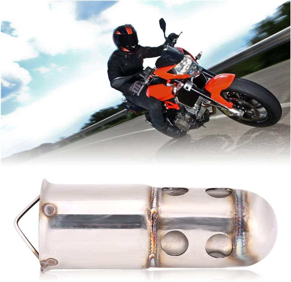 Neeknn 51mm Motorcycle Exhaust Pipe Muffler Silencer DB Killer Noise Eliminator Motorcycle Exhaust Tips Exhaust Silencer