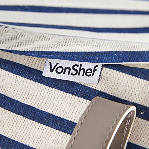 Vonshef 4 Person Picnic Basket : Vonshef deluxe person folding handle picnic basket